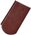 Tondach PILIS Hornyolt ívesvágású 1/1 antik (csornai) tetőcserép