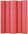 Bramac Római Protector 1/1 rubinvörös tetőcserép