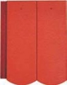 Bramac Reviva Novo 1/1 rubinvörös tetőcserép