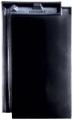 Creaton Domino 1/1 fekete üvegmázas FINESSE tetőcserép