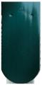 Creaton Klassik kerekvágású 1/1 zöld üvegmázas tetőcserép