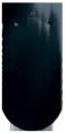 Creaton Klassik kerekvágású 1/1 fekete üvegmázas tetőcserép