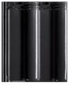 Creaton Maxima 1/1 fekete üvegmázas FINESSE tetőcserép