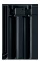 Creaton Rapido 1/1 fekete matt engóbozott tetőcserép