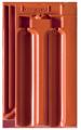Creaton Ratio 1/1 vörös üvegmázas FINESSE tetőcserép