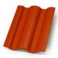 Terrán Danubia ColorSystem 1/1 tégla tetőcserép