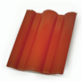 Terrán Danubia Resistor 1/1 korall tetőcserép