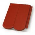 Terrán Rundo ColorSystem 1/1 bordó tetőcserép
