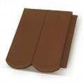 Terrán Rundo ColorSystem 1/1 barna tetőcserép