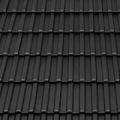 Tondach Bécsi Norma 1/1 antracit tetőcserép