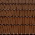 Tondach Bécsi Norma 1/1 sötétbarna tetőcserép