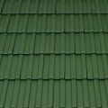 Tondach Bécsi Norma 1/1 sötétzöld tetőcserép