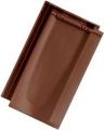 Tondach Bolero 1/1 sötétbarna tetőcserép