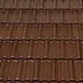 Tondach Fidelio 1/1 sötétbarna tetőcserép