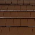Tondach Figaro 1/1 sötétbarna tetőcserép