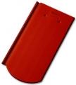Tondach PILIS Hornyolt ívesvágású 1/1 piros (csornai) tetőcserép