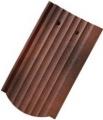 Tondach ZEMPLÉN hornyolt ívesvágású 1/1 antik (csornai) tetőcser