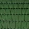 Tondach Norma 1/1 sötétzöld tetőcserép