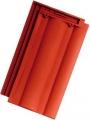 Tondach Twist 1/1 piros tetőcserép